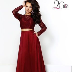 2 Piece Long Sleeve Dress